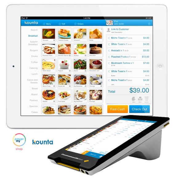 PowerMy Shop for Hospitality Kounta POS