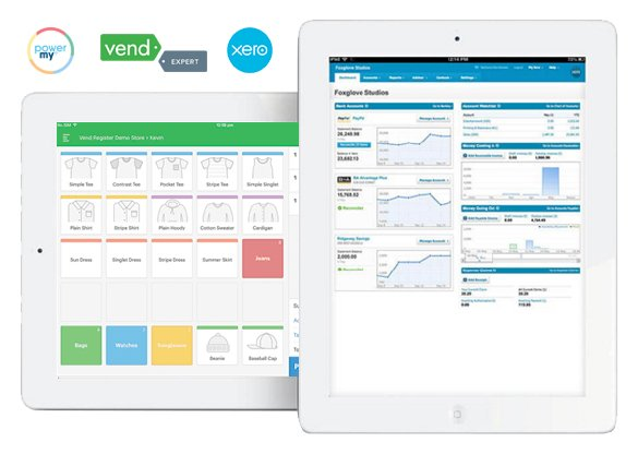 PowerMy Shop Retail Vend Xero